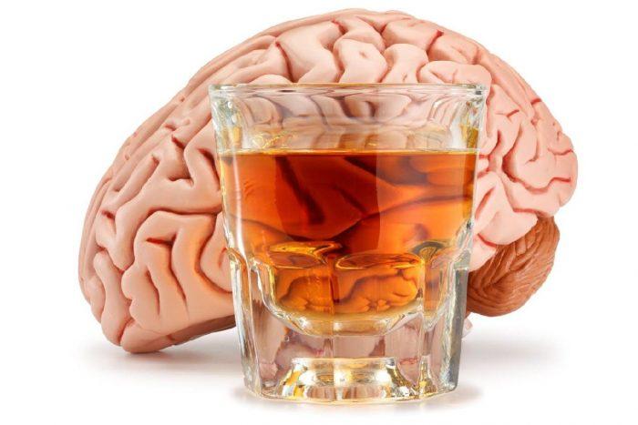 спиртное и мозг