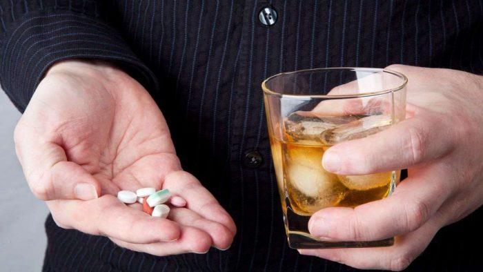 совместимость с алкоголем