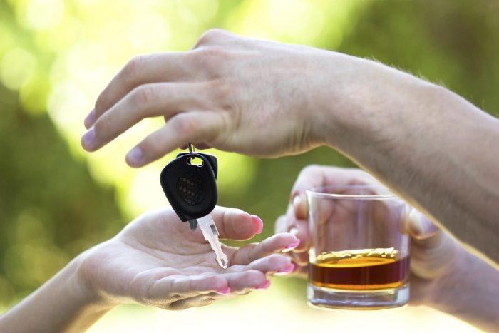 спирт и вождение
