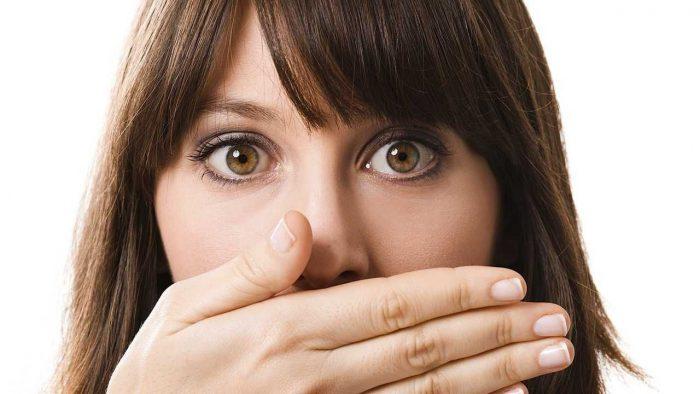 перегар изо рта