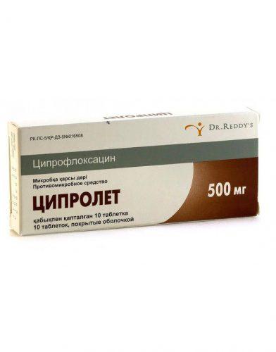 препарат ципролет