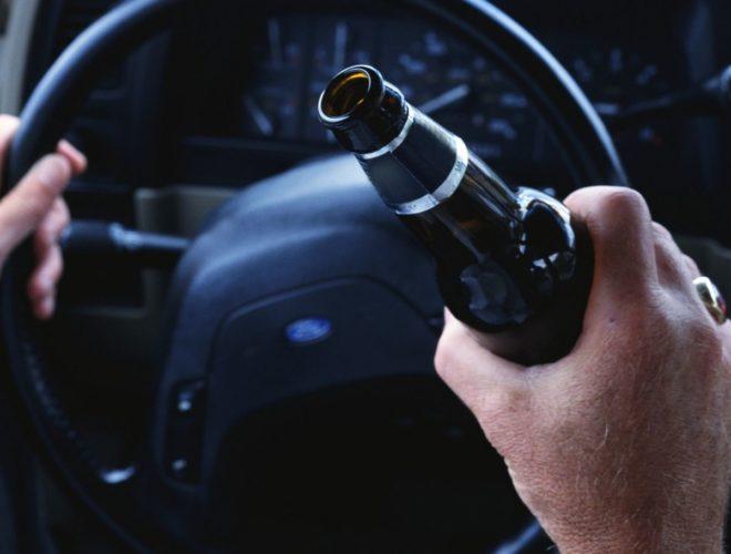 алкоголь и машина